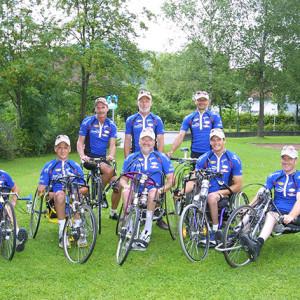 Rollstuhltour-2001-Team