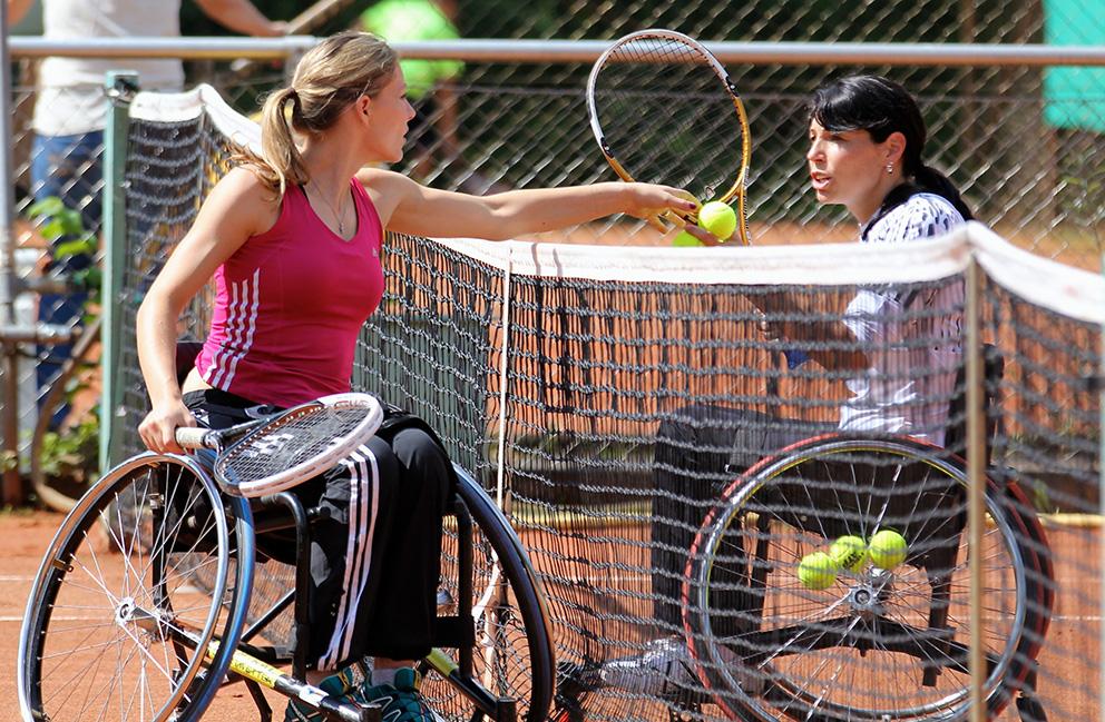 Nationales Rollstuhltennisturnier An Der Furt