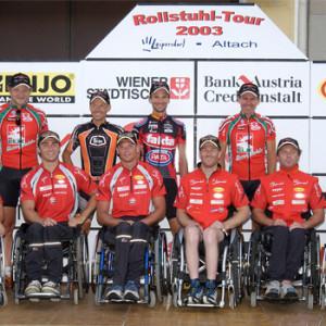 Rollstuhltour 2003 12