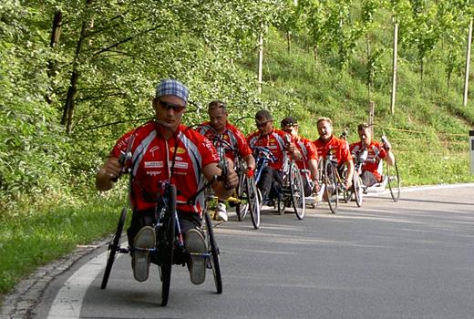 Rollstuhltour 2003
