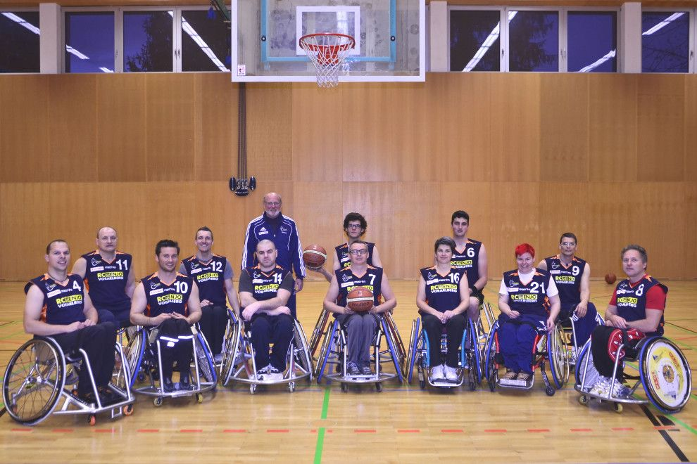 Rollstuhl-Basketball-Turnier