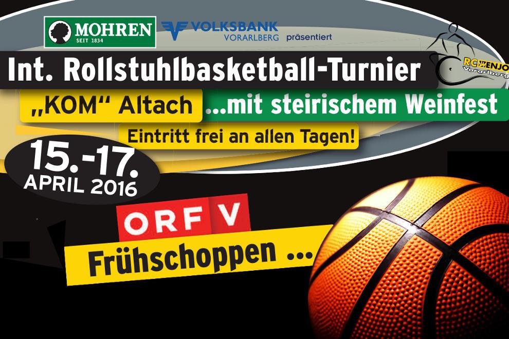 RCV HP Rollstuhlbasketball Turnier 2016