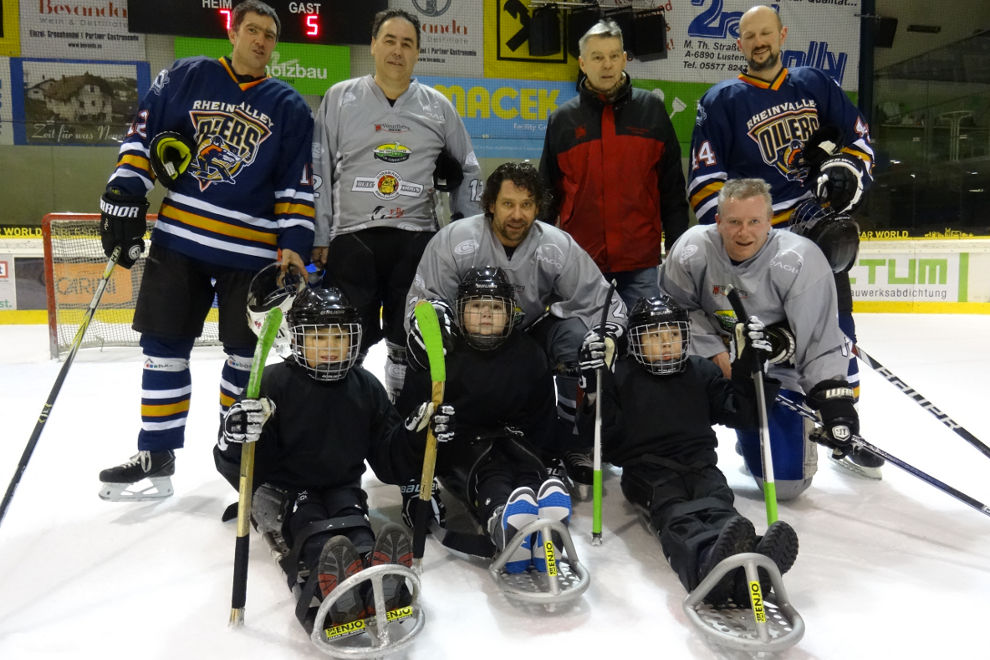 RCV HP Charity Sledgehockey EHC Lustenau 1