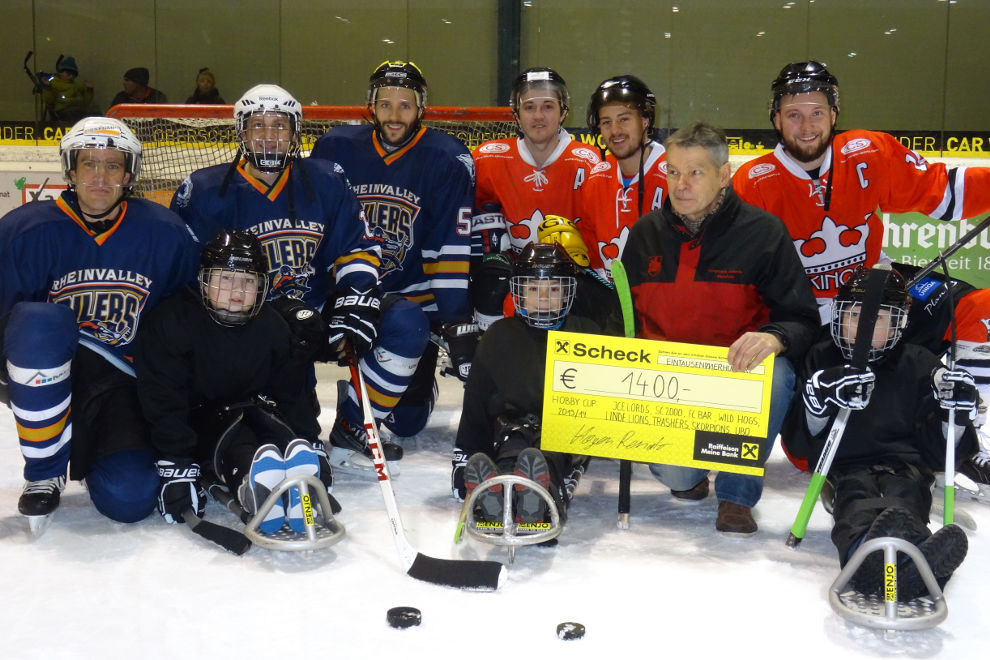 RCV HP Charity Sledgehockey EHC Lustenau 2