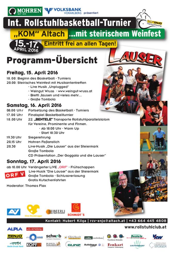 RCV BB2016 Programm
