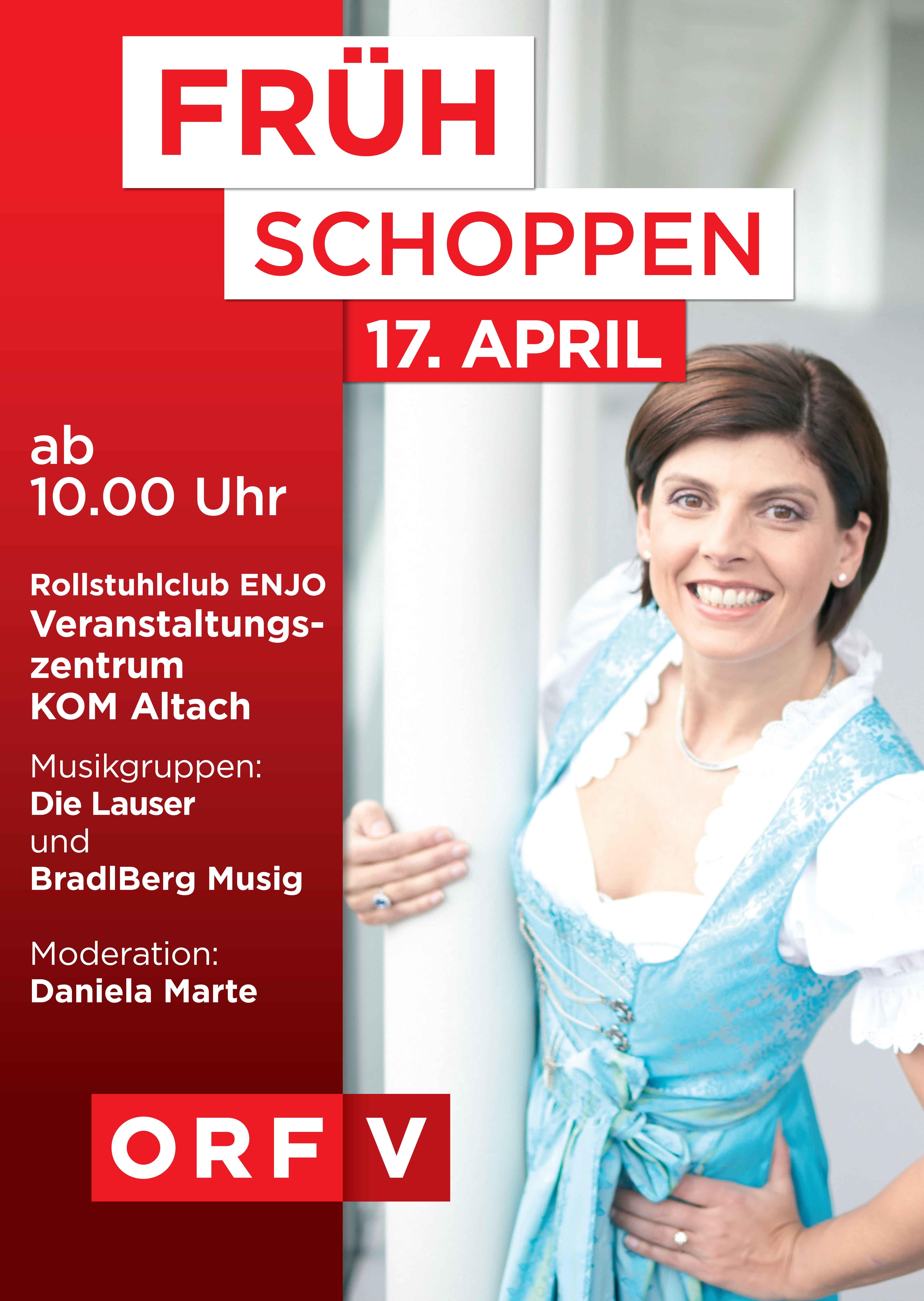 Plakat Fruehshoppen