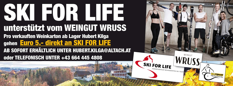 Weingut Wruss Unterstützt Ski For Life