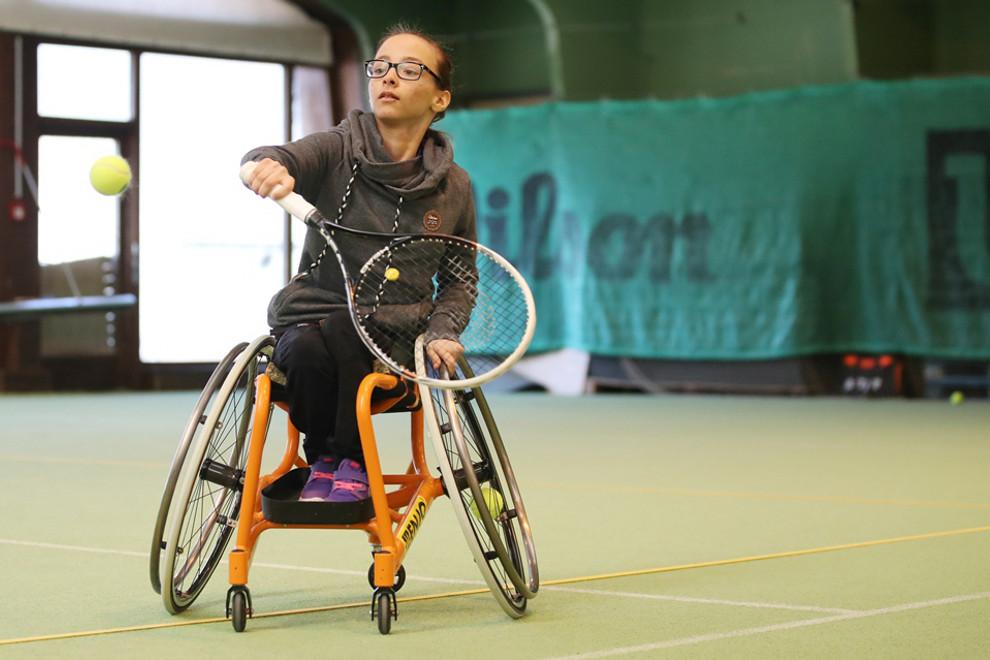 Hp Rcv Oem Rollstuhltennis 2017 Schwaz Kids Martina Hehle