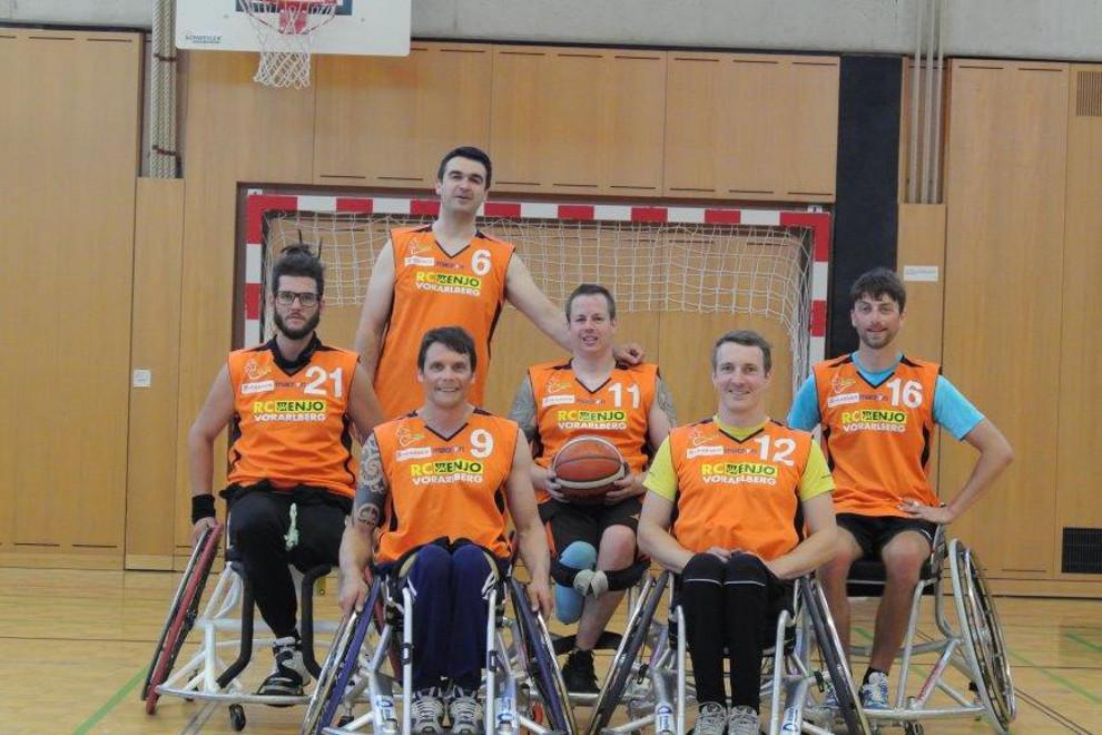 Hp Rcv Rollstuhlbasketball Team Woergl 2017