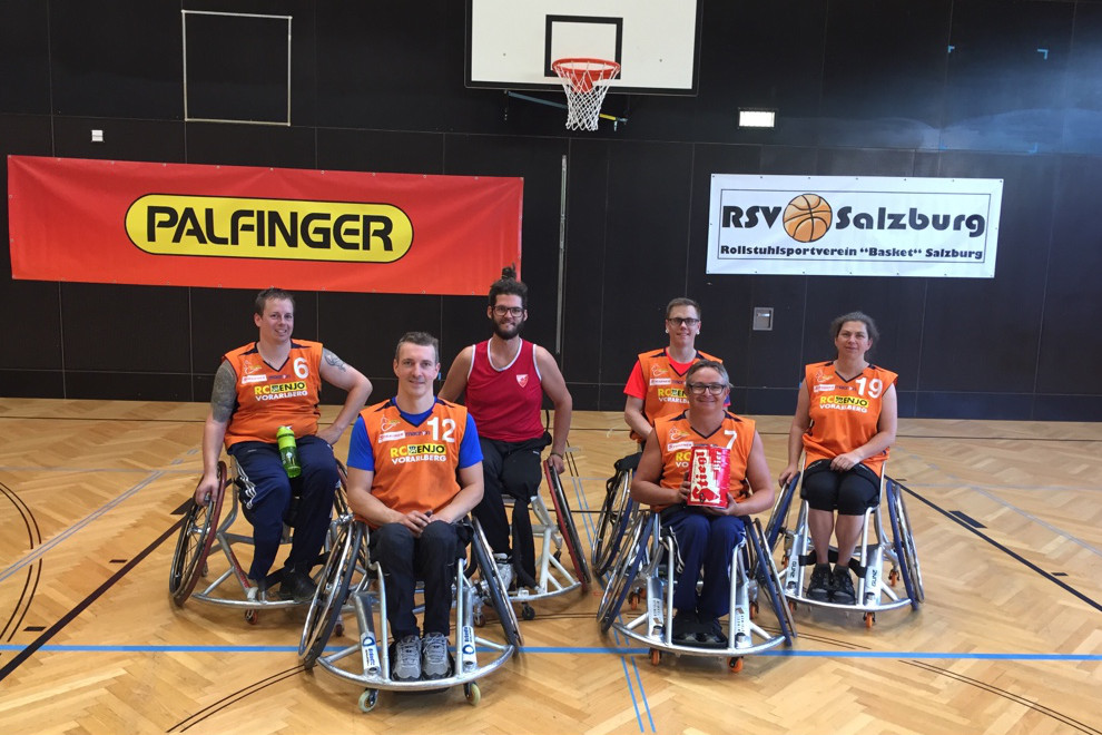 Rcv Basketball Turnier Salzburg Team 2017