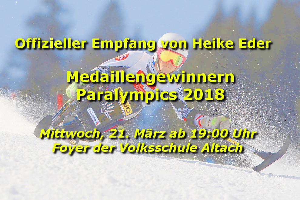 Hp Rcv Paralympics Heike Eder Empfang 2018