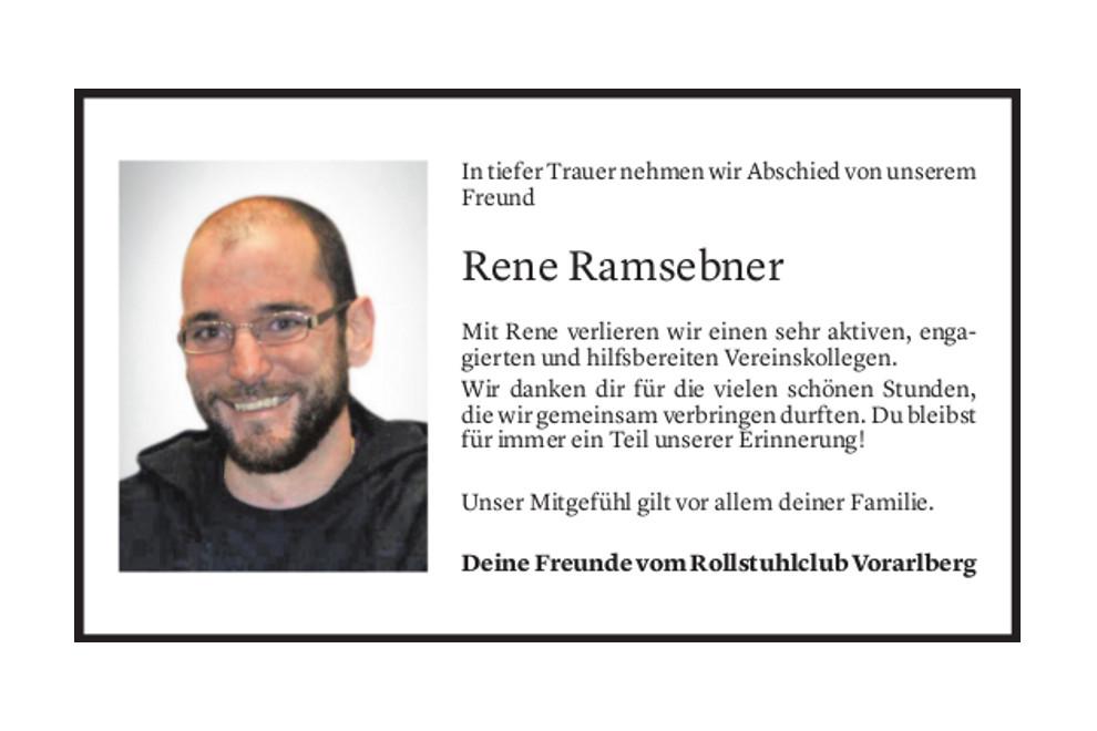 Hp Rcv Rene Abschied