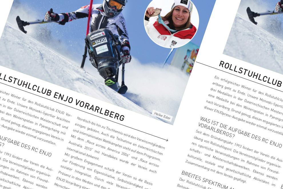 """ENJO Berichtet über Erfolge """"seines"""" Rollstuhlclubs"""