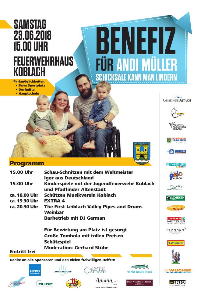 HP RCV Benefiz Andi Müller 2018