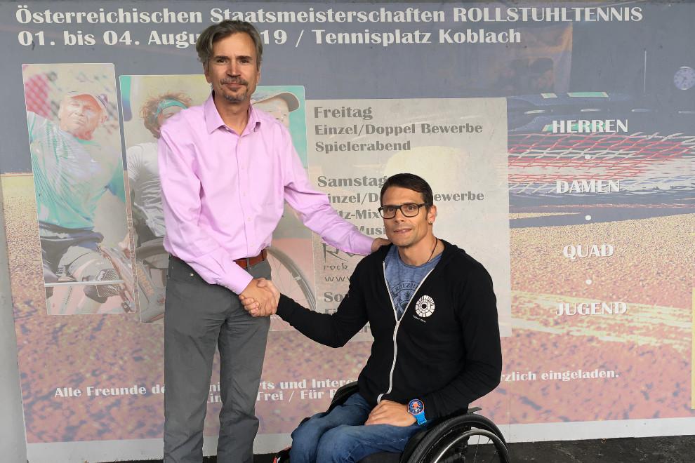 UTC Koblach Supportet Den Rollstuhlclub