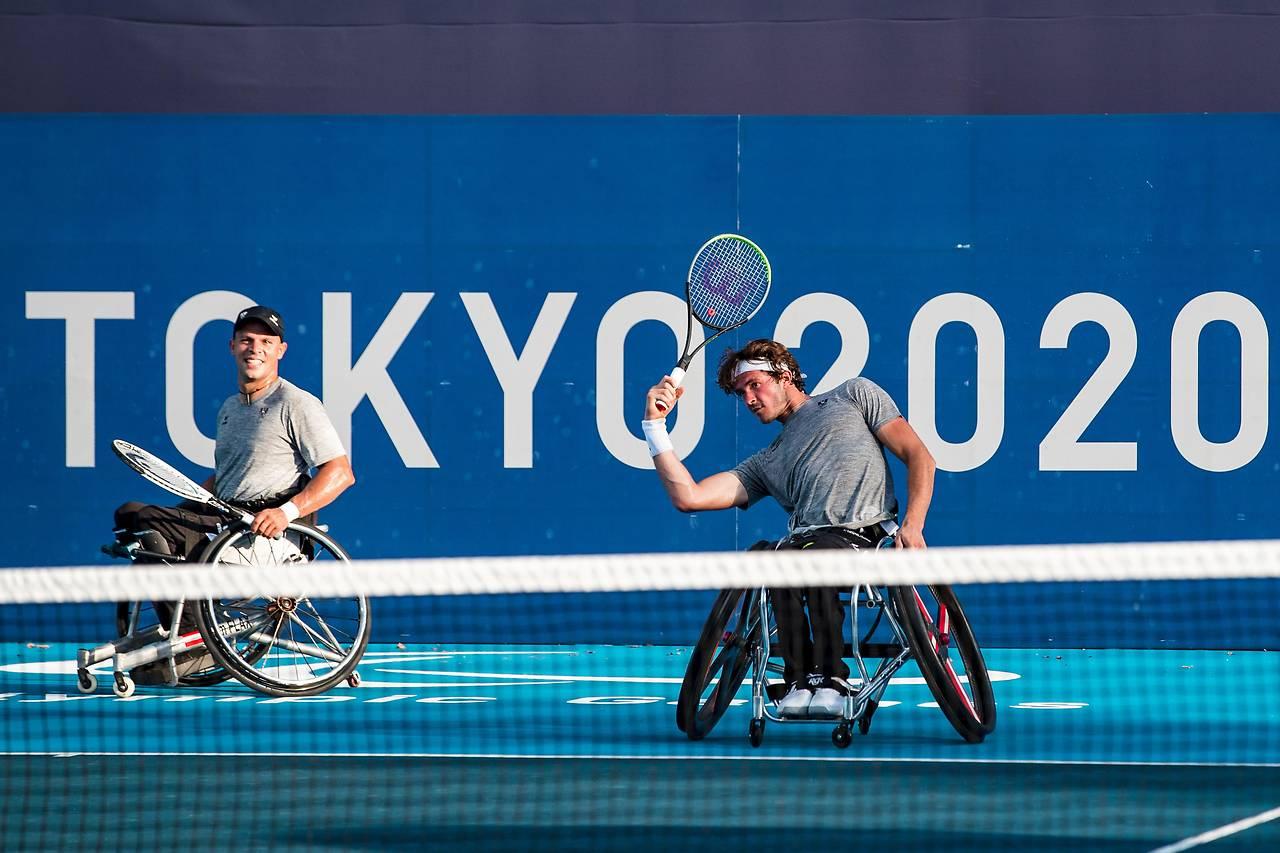 Update Paralympics – Flax Im Doppel In Zweiter Runde